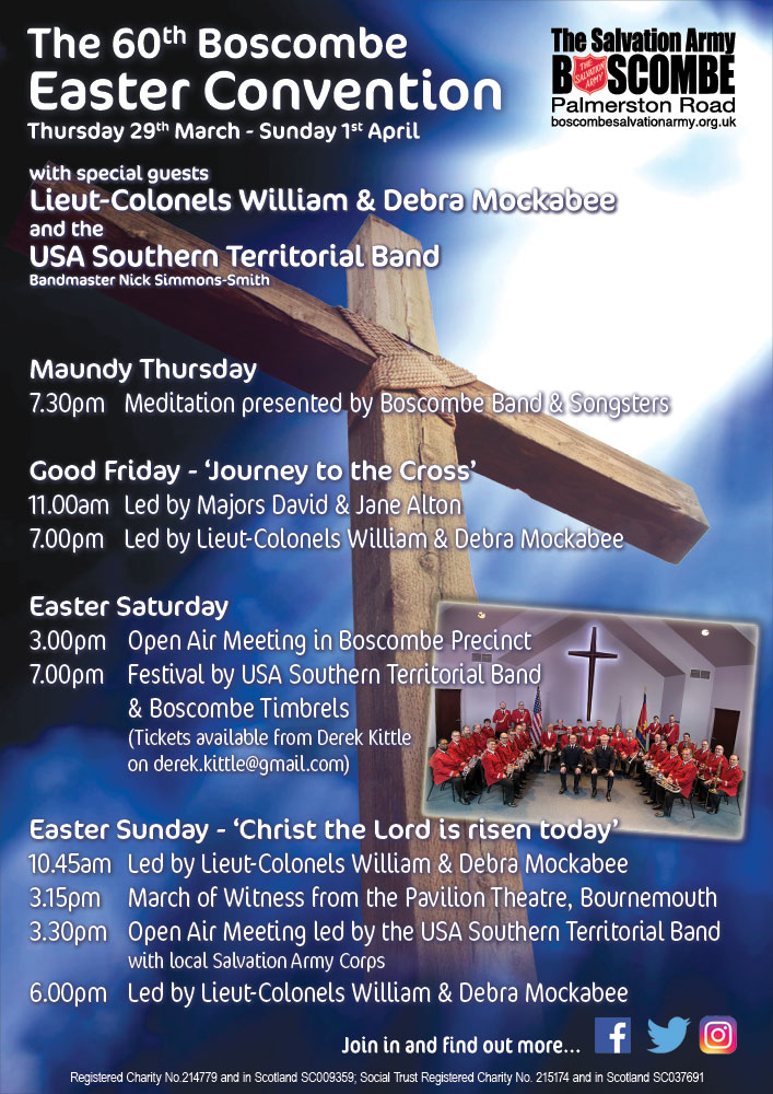 60th Boscombe Easter Convention
